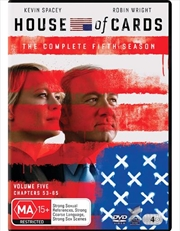 House Of Cards - Season 5 | DVD