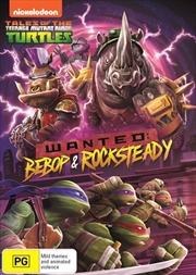 Teenage Mutant Ninja Turtles - Wanted - Bebop and Rocksteady