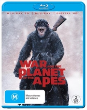 War For The Planet Of The Apes | 3D + 2D Blu-ray + Digital Copy