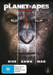 Planet Of The Apes Trilogy | DVD