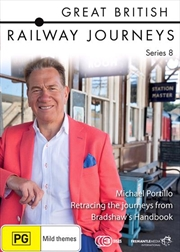 Great British Railway Journeys - Series 8 | DVD