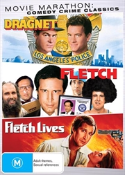 Fletch / Fletch Lives / Dragnet | Comedy Crime Triple Pack