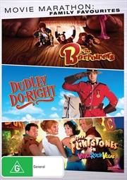 Borrowers / Dudley Do Right / The Flintstones In Viva Rock Vegas | Family Triple Pack, The