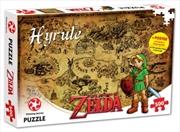 Legend Of Zelda Hyrule Field Map 500 pieces