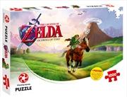 Legend Of Zelda Ocarina Of Time 1000 Piece Puzzle