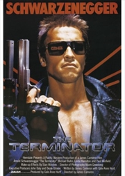 The Terminator One Sheet Poster | Merchandise