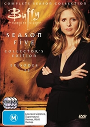 Buffy The Vampire Slayer - Season 05 DVD Box Set