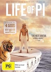Life Of Pi: Pg 2012 | DVD