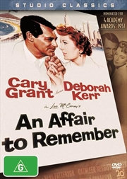 An Affair To Remember | DVD