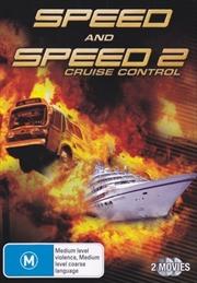 Speed / Speed 2: Cruise Control   DVD