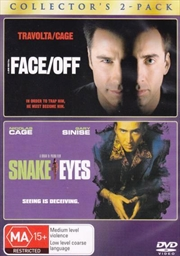 Face Off / Snake Eyes | DVD