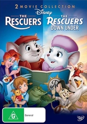 Rescuers/The Rescuers Down Under | DVD