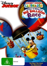 Mickey Mouse Clubhouse - Mickey and Donald's Big Balloon Race | DVD