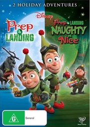 Prep and Landing / Naughty Vs. Nice | DVD