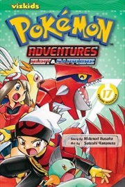 Pokemon Adventures: Vol 17 | Paperback Book
