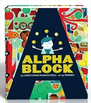 Alphablock | Board Book