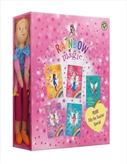 Rainbow Magic: The School Days Fairies 5 Book Gift Pack including Tilly the Teacher Special plus a R