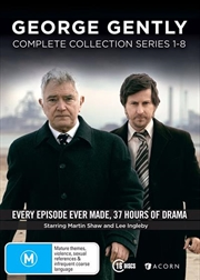 George Gently - Series 1-8 | Boxset | DVD