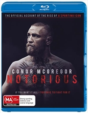 Conor Mcgregor: Notorious | Blu-ray