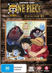 One Piece - Uncut - Collection 45 - Eps 541-552 | DVD