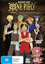 One Piece Voyage - Collection 5 - Eps 206-252 | DVD