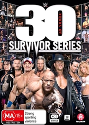 WWE - 30 Years Of Survivor Series | DVD