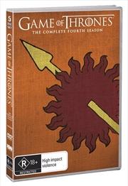 Game Of Thrones - Season 4 (Martell Art) | DVD