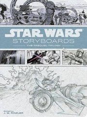 Star Wars Storyboards: Prequel | Hardback Book