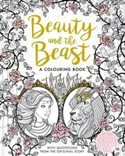 Beauty And The Beast Colouring