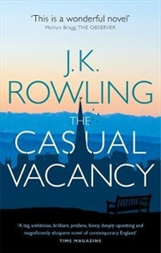Casual Vacancy | Paperback Book