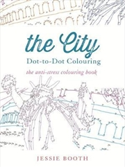 City: Dot To Dot Colouring | Paperback Book