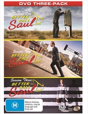 Better Call Saul - Season 1-3 Boxset | DVD