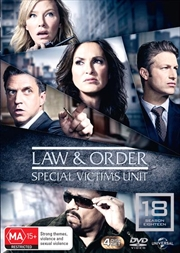 Law And Order - Special Victims Unit - Season 18 | DVD