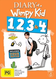 Diary Of A Wimpy Kid | 4 Pack