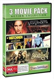 V For Vendetta / Watchmen: The Motion Comic / Sucker Punch