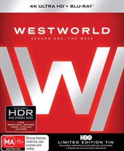 Westworld - Season 1 | Blu-ray + UHD - Tin