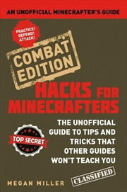Hacks for Minecrafters: Combat Edit | Paperback Book