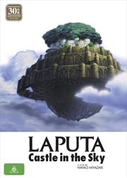 Laputa - Castle In The Sky - 30th Anniversary Edition | Blu-ray + DVD - With Artbook
