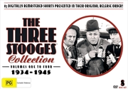 Three Stooges Vols 1-4
