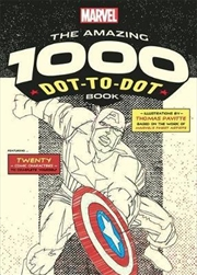Marvel's Amazing 1000 Dot-to-Dot Book | Paperback Book