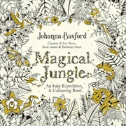 Magical Jungle An Inky Expedition & Colouring Book | Paperback Book
