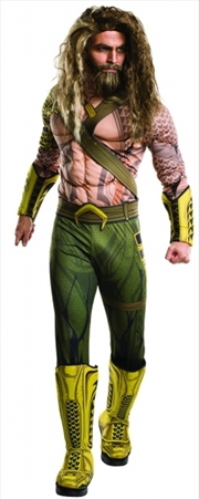 Aquaman Deluxe Muscle Costume (Extra-Large)