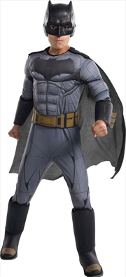 Kids Deluxe Batman Justice League Costume (Medium)