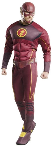 The Flash Muscle Chest Costume (Adult One Size)