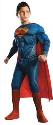 Superman Deluxe Costume (Child Medium)