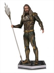 Justice League Movie - Aquaman Statue