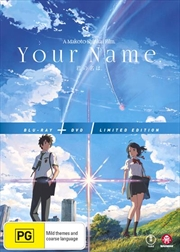Your Name - Limited Edition | Blu-ray + DVD
