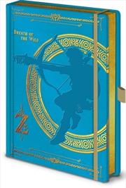 Breath Of Wild A5 Notebook | Merchandise