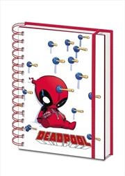 Deadpool Suckers A5 Notebook | Merchandise