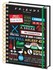 Infographic A5 Notebook